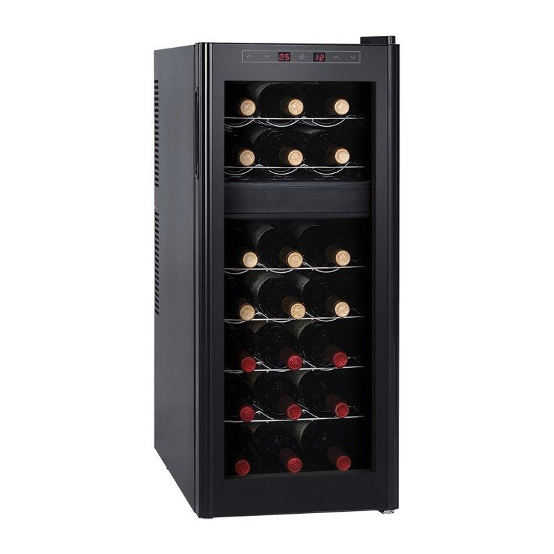 2 Zonen Weinkühlschrank Für 21 Flaschen