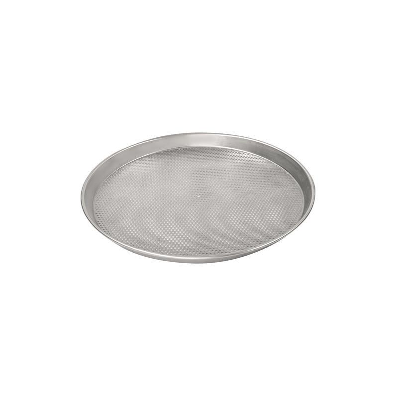 gelocht Pizzascheibe aus Aluminium Ø 25 cm