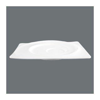 gastro geschirr paso untertasse eckig gro 19 5 cm gstshop de. Black Bedroom Furniture Sets. Home Design Ideas