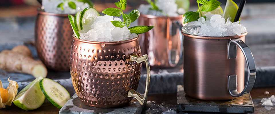 Moscow Mule Cocktail Becher